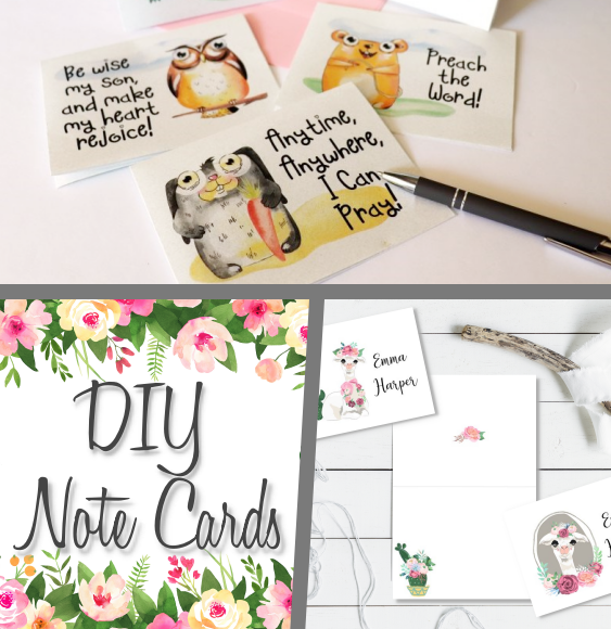 DIY Notecards