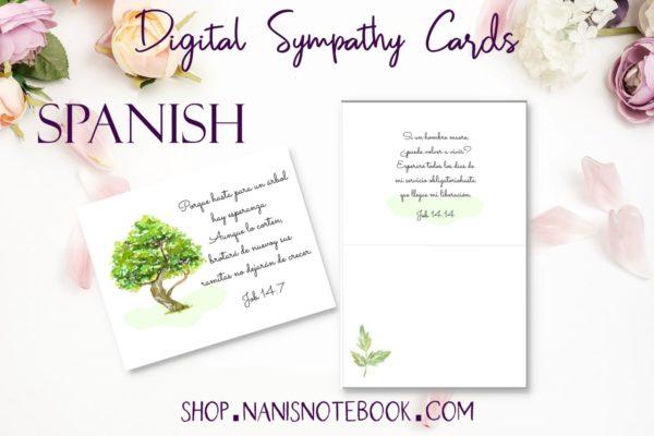 sympathy cards-spanish